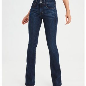 American eagle high waisted artist flare